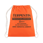 Terpentin Backpack Sportbeutel in leuchtendem Orange