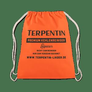 Terpentin Backpack Sportbeutel in leuchtendem Orange