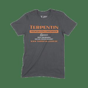 Terpentin Supporter T-Shirt Schwarz