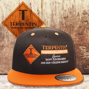 Moderne Snapback Cap Orange
