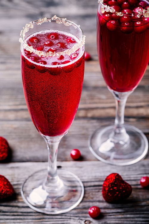 Rezept Terpentin Cranberry-Spritz